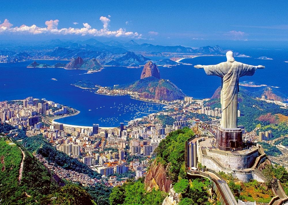 Rio De Janeiro Statue of Jesus