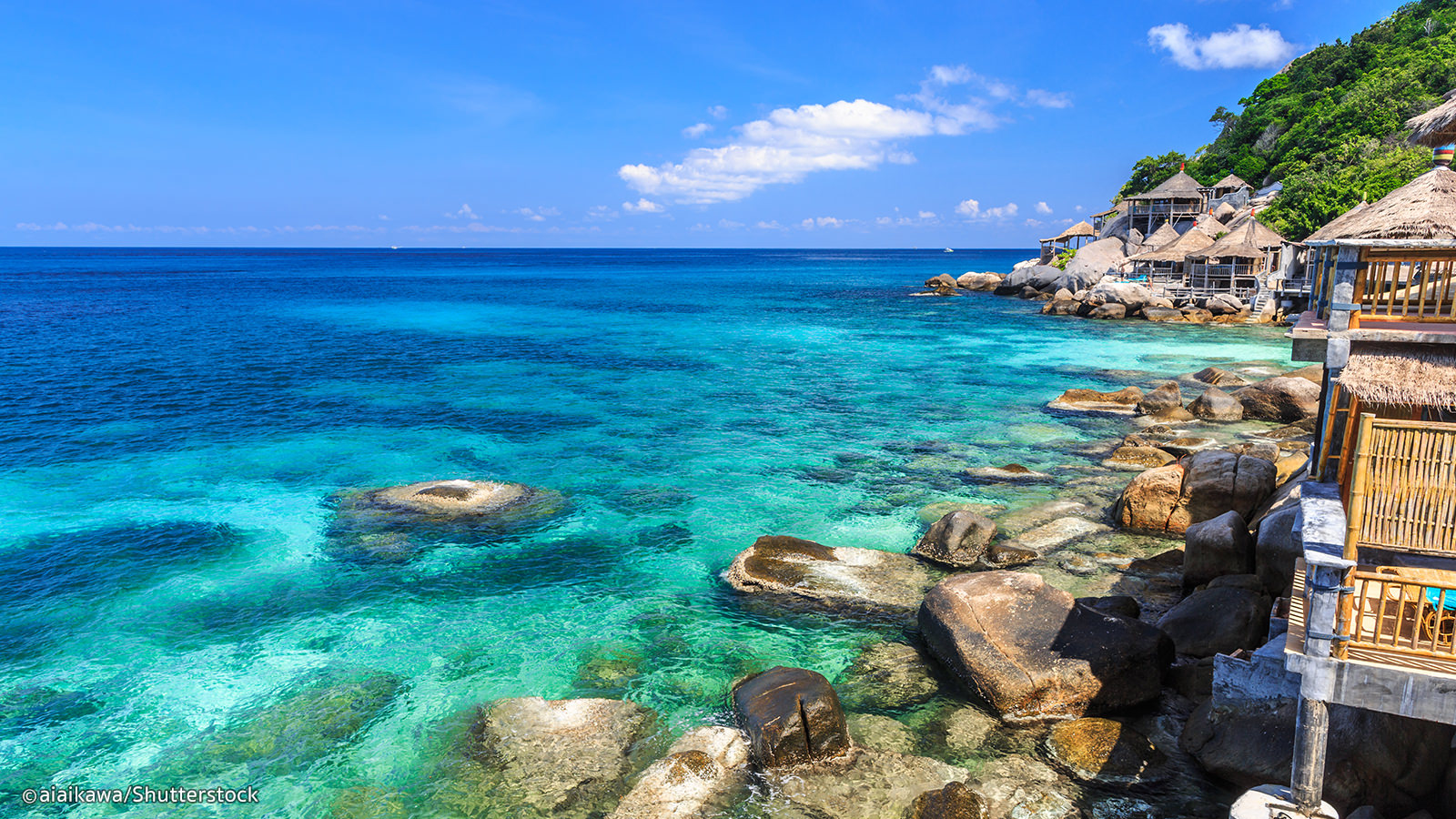 Koh Tao crystal clear water