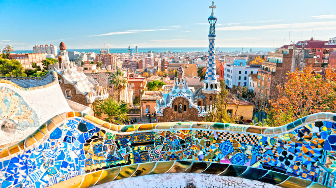 Barcelona, Spain - Tourist Destinations