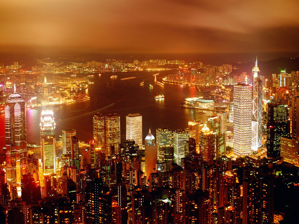 City_Of_Life_Hong_Kong_China