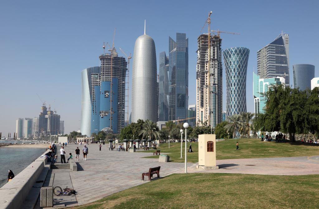 Doha-downtown-district-Al-Dafna-Qatar