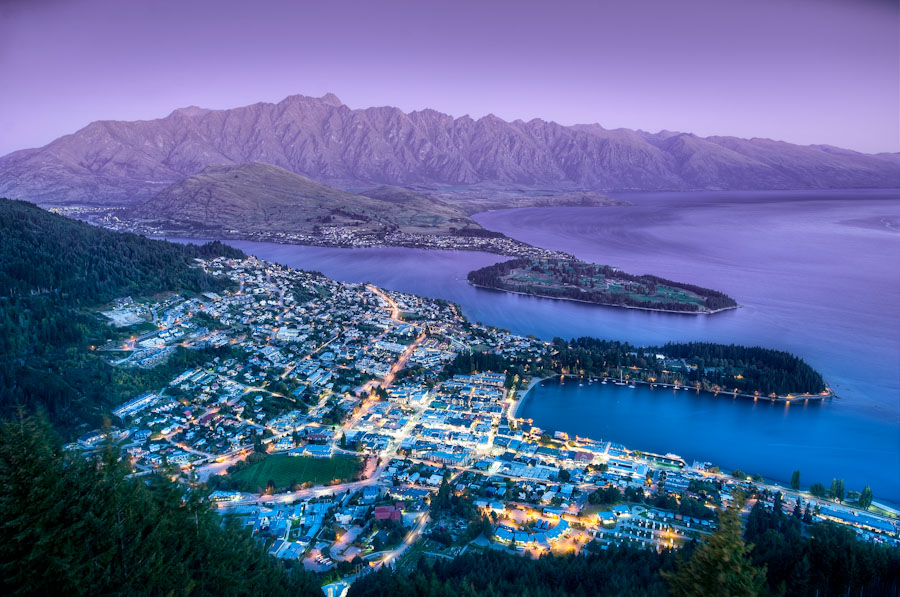 The Queenstown Lookout - (HDR New Zealand)