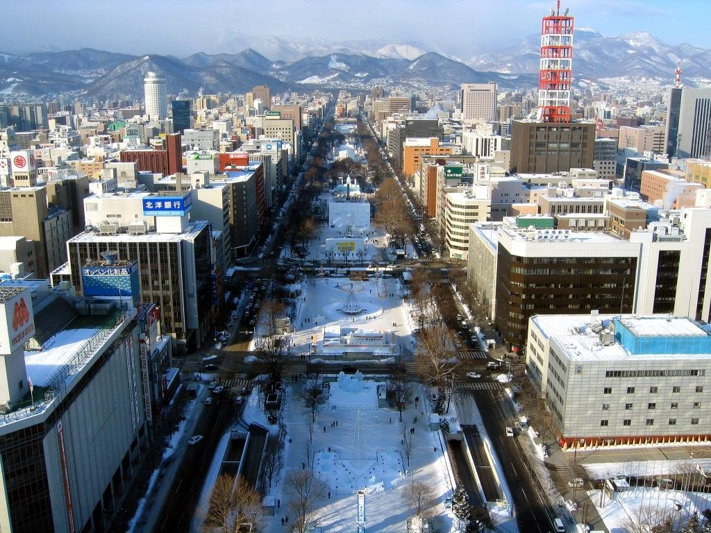 Hokkaido_Sapporo_Odori_Park