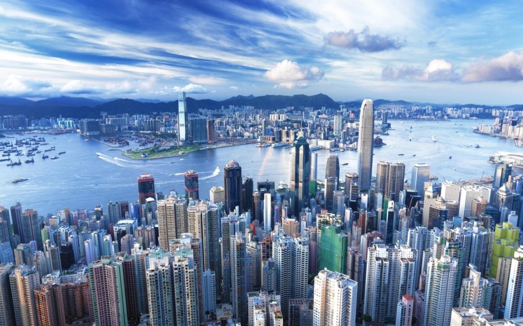 Hong-Kong-View-China-Cidade