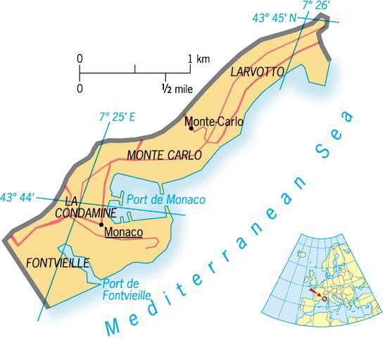 Monaco Tourist Destinations
