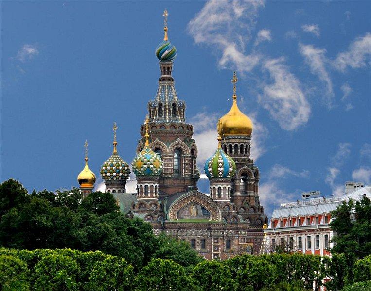 Resurrection Church St Petersburg Russia