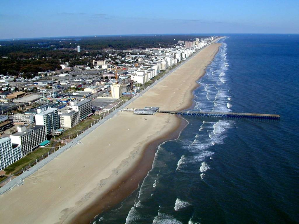 Virginia Beach Is Located At The South Eastern Part Of State Its Coastline Meets With Blue Atlantic Ocean Has A Good