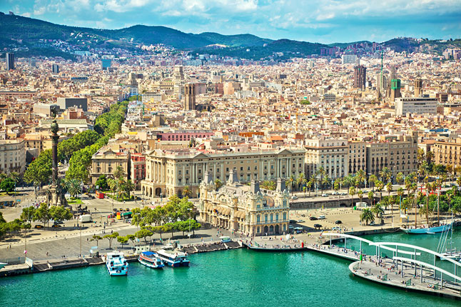 Barcelona Spain Tourist Destinations