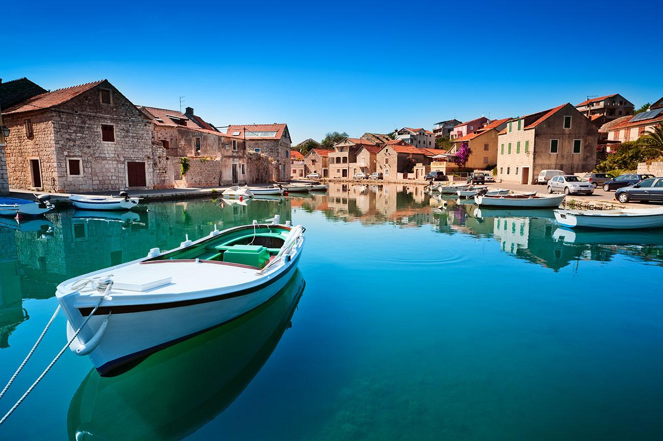 croatia boat water