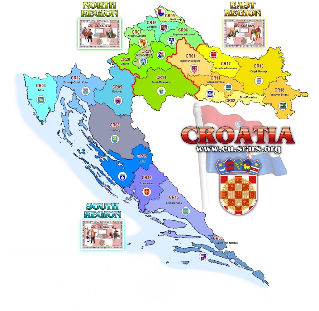 Croatia Map Tourist – Croatia Tourist Map
