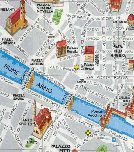 Florence Italy Tourist Destinations – Florence Italy Tourist Map
