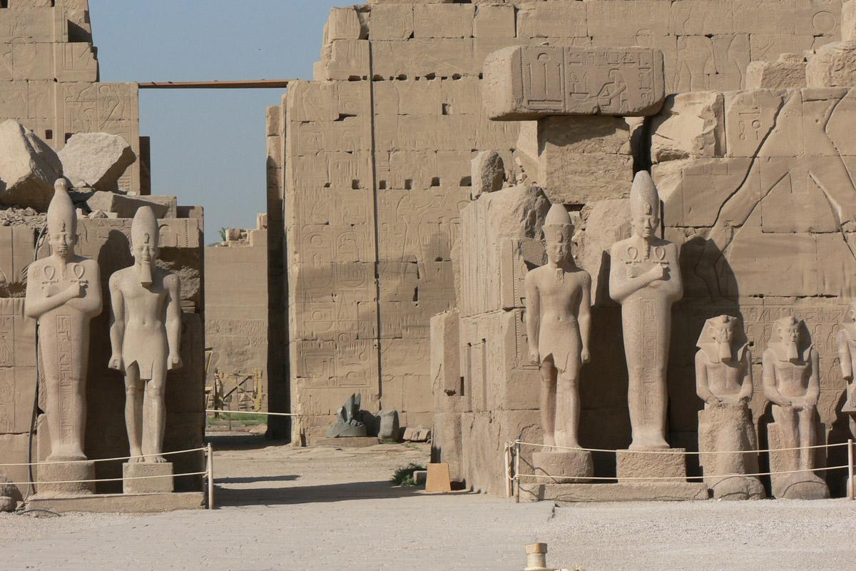 In Karnak temple, Luxor, Egypt