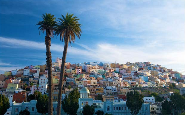 palmas-view_The Canary Islands