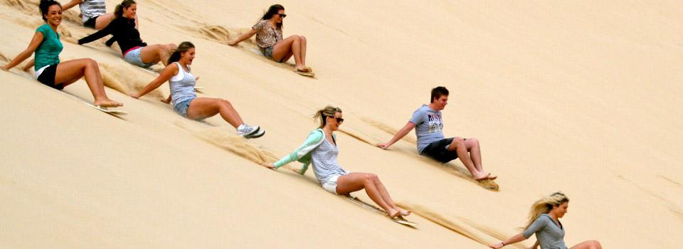 slide-sand-Stockton Beach