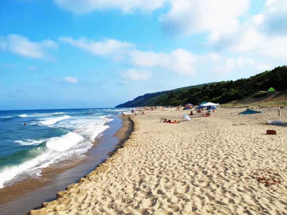 burgas, bulgaria, beach, coast