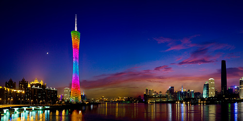 Guangzhou China Tourist Destinations