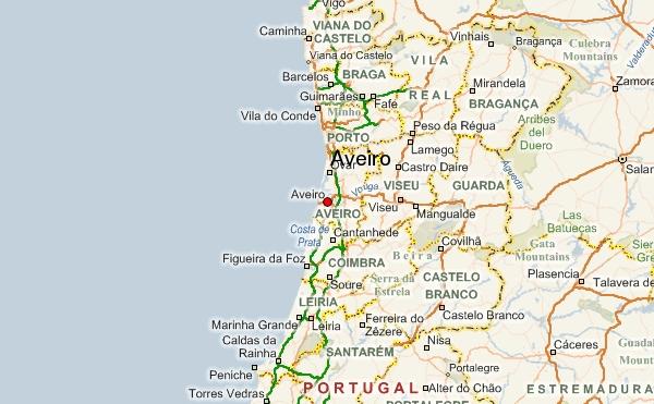 Aveiro-map