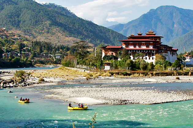 Bhutan-rivers