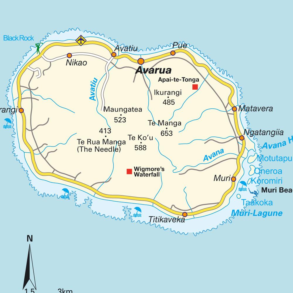 Cook-Island-map