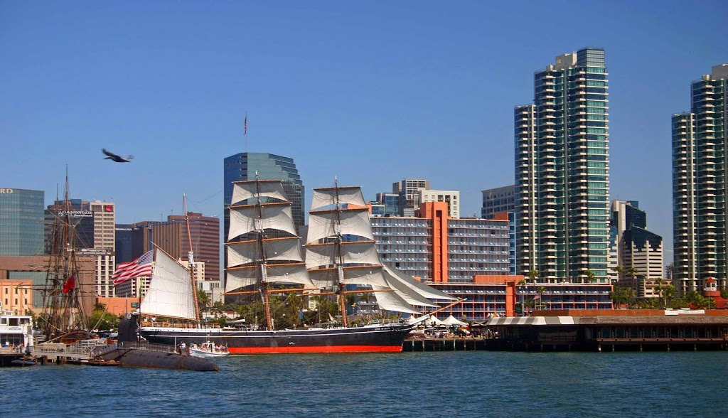 Harbor_of_San_Diego_California