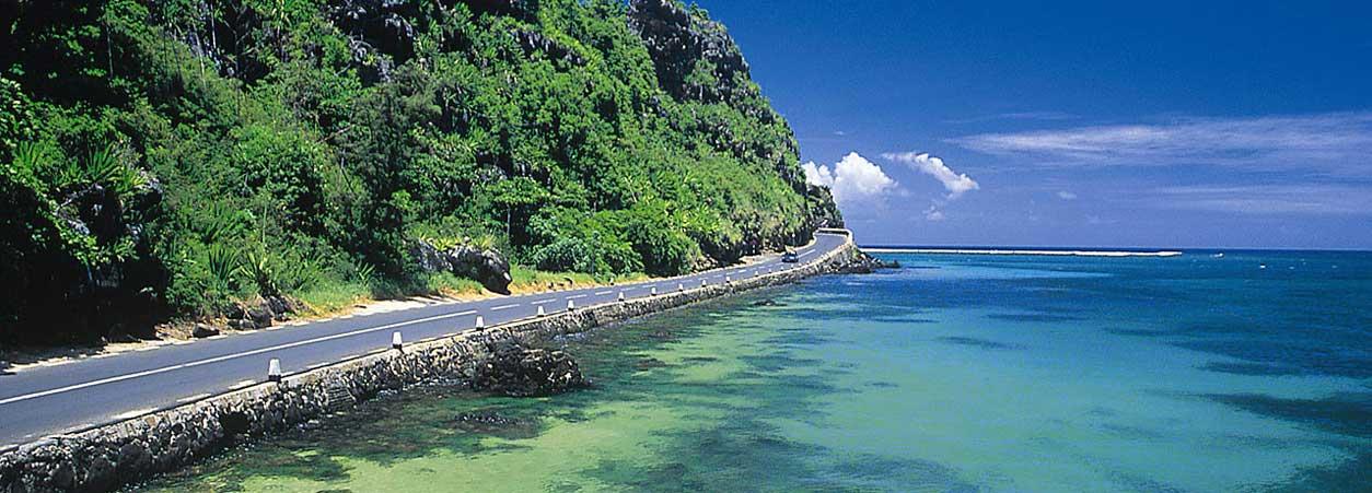 Mauritius-road