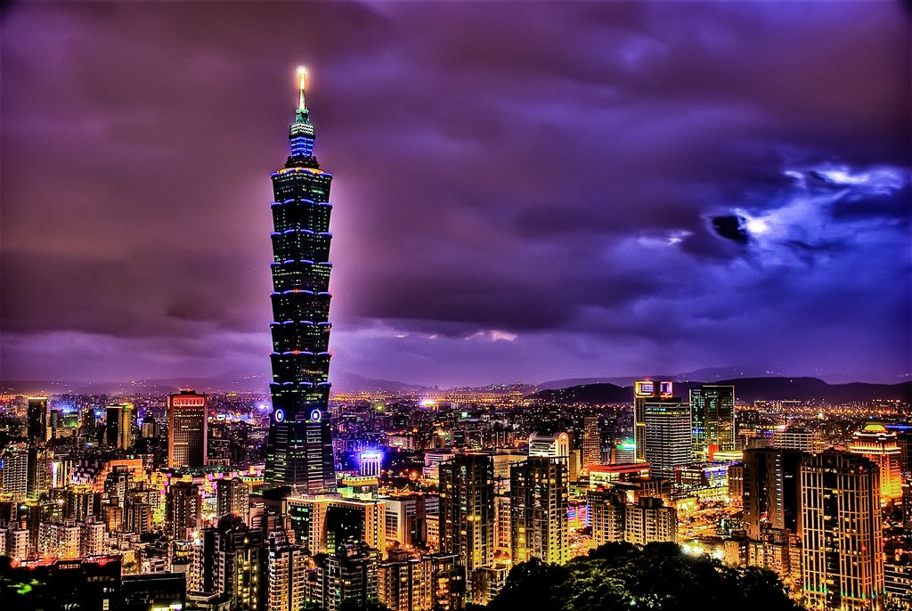 Hualien City is situated on Taiwan's east coast and has a population of approximately , Most travellers drop by this serene coastal city to visit the nearby Taroko National Park and km long Qing Shui Cliff.