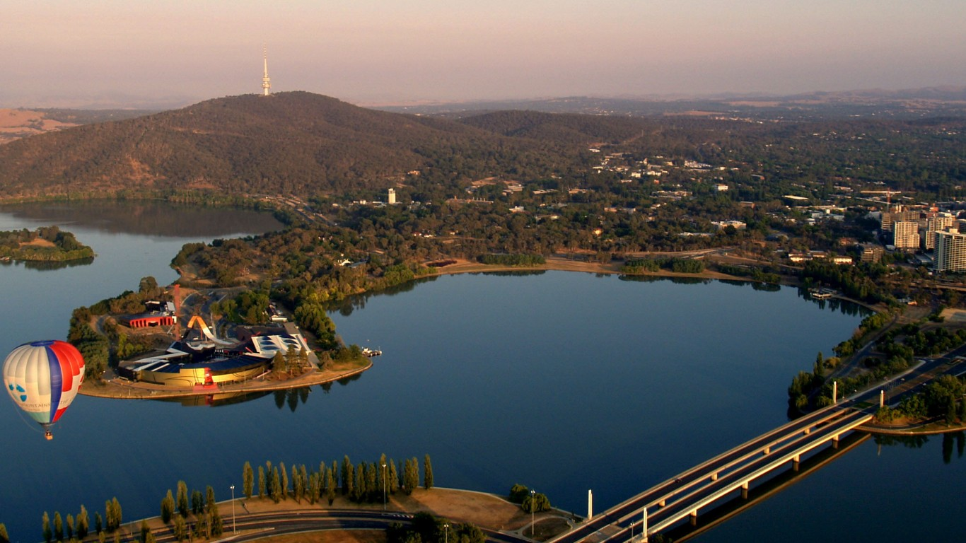 canberra-lake-australia-wallpaper