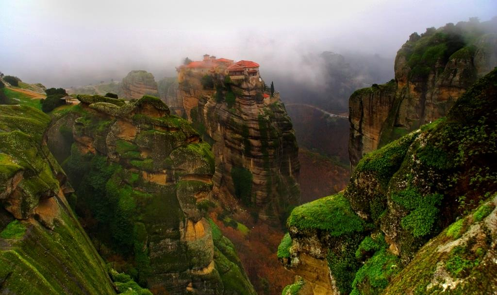 Meteora, Greece - Monasteries
