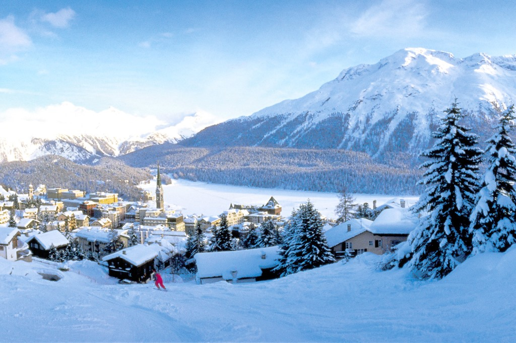 St. Moritz skiing holidays