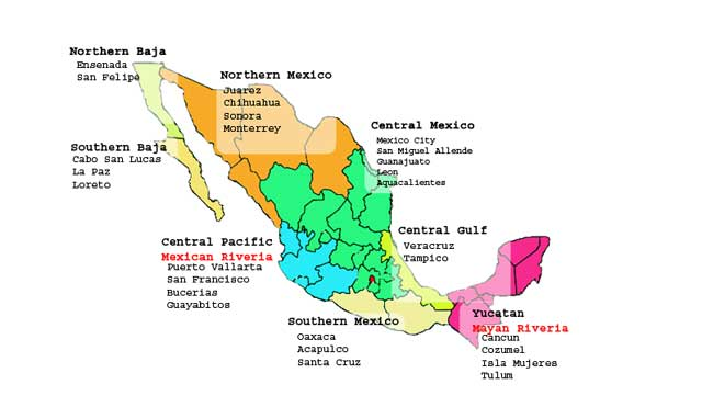 Mexico - Map