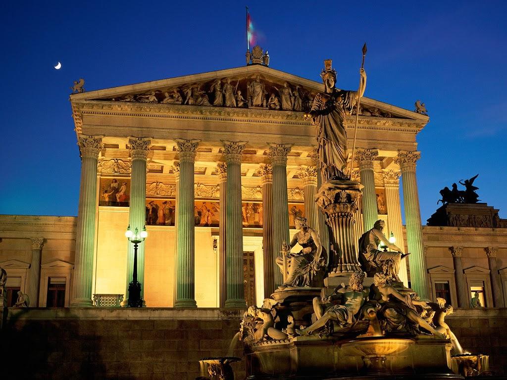 Vienna_Austria_Pallas_Athene_Fountain_Parliament_Building
