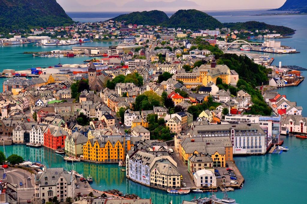 Alesund, Noruega-Norway