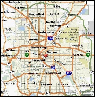 Denver-Map