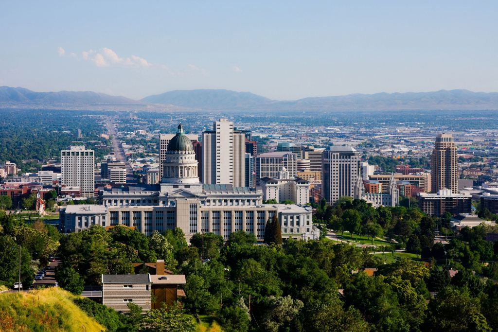Salt-Lake-City-in-Utah