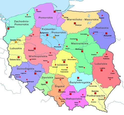 poland-map-polska-map