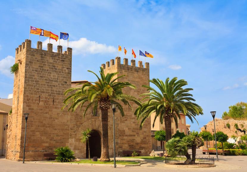 Mallorka-castle