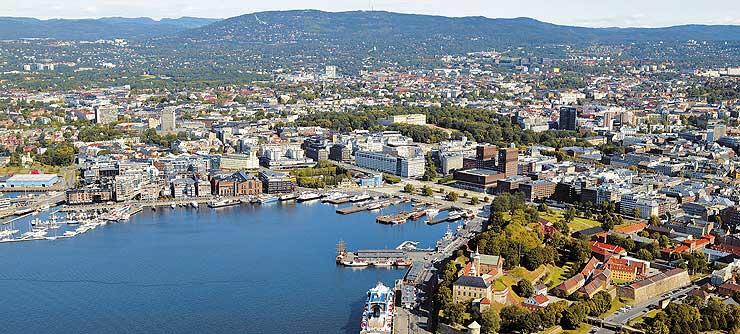 Oslo-aerial