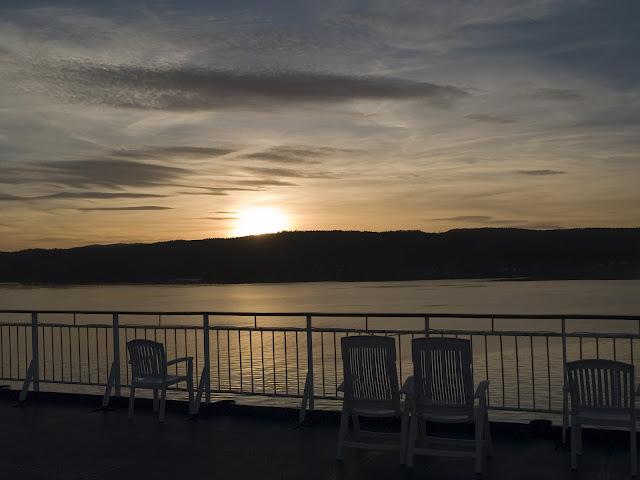 Oslo-sunset