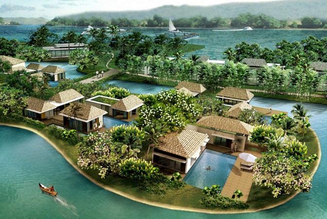 Goa pearl island