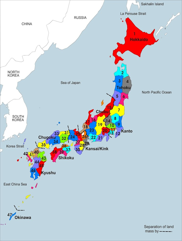 Japan Tourist Destinations – Japan Map For Tourist