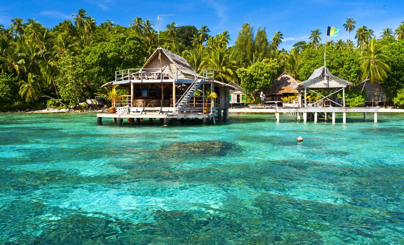 Solomon islands water