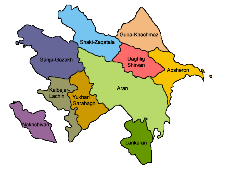 Azerbaijan_economic_regions