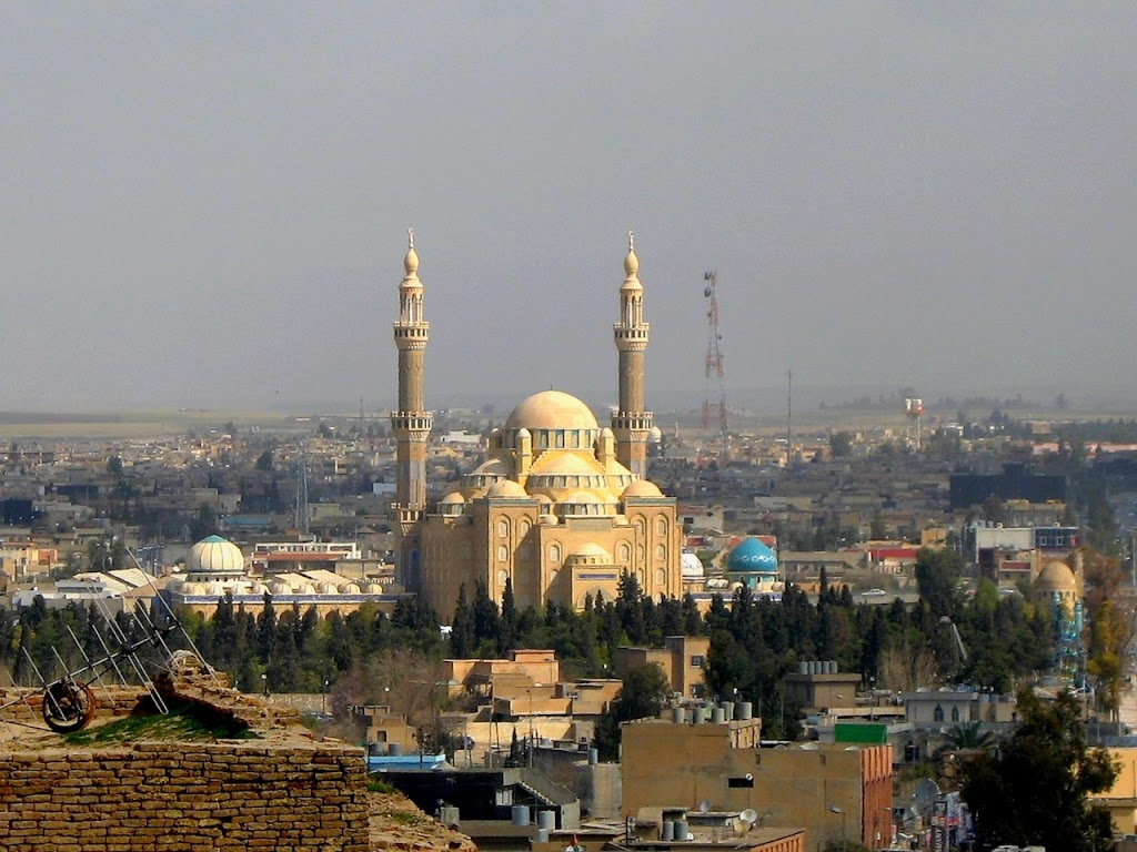 Central-Mosque-in-Erbil-Iraq