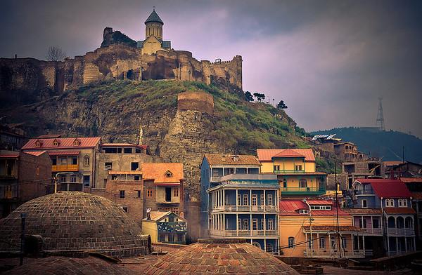 Tbilisi Tskneti Mountain Villa Tbilisi City Georgia: Tourist Destinations