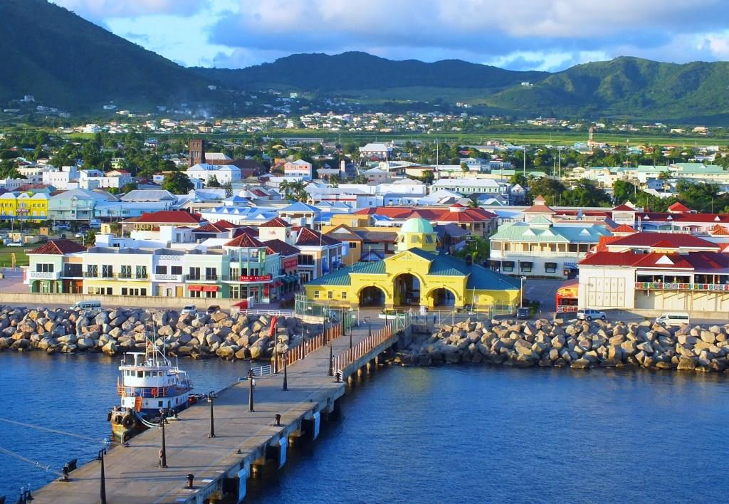 General-View-Of-Town Basseterre Saint Kitts and Nevis