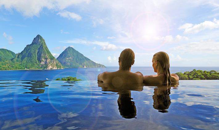 infinity-pool Saint Lucia