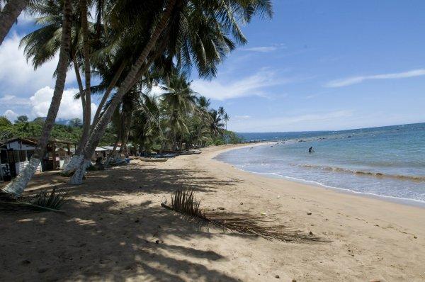 Equatorial Guinea beach