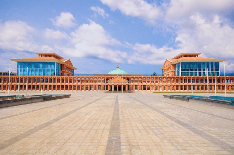Equatorial Guinea presidental palace