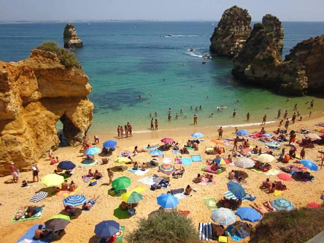 Algarve-Lagos-Portugal beach