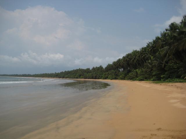 Liberia beach